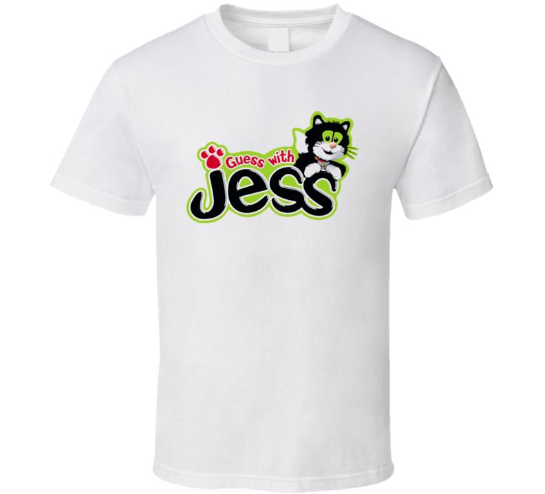 Guess With Jess Cartoon T Shirt