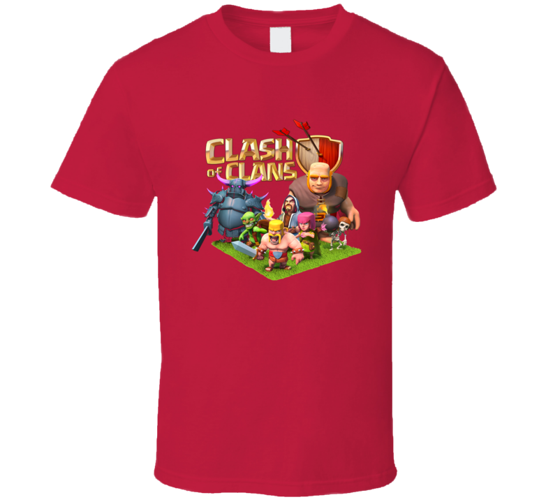 clash of clan characters funny [TRed] T Shirt