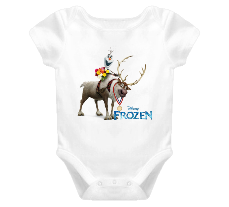 frozen olaf and sven T Shirt