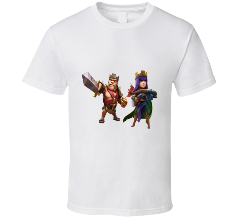 Clash Of Clans Couple 04 T Shirt
