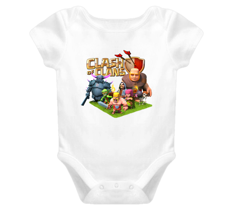 Clash Of Clans Characters [TW] baby T Shirt