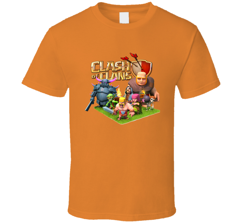 clash of clan characters funny [TW] T Shirt