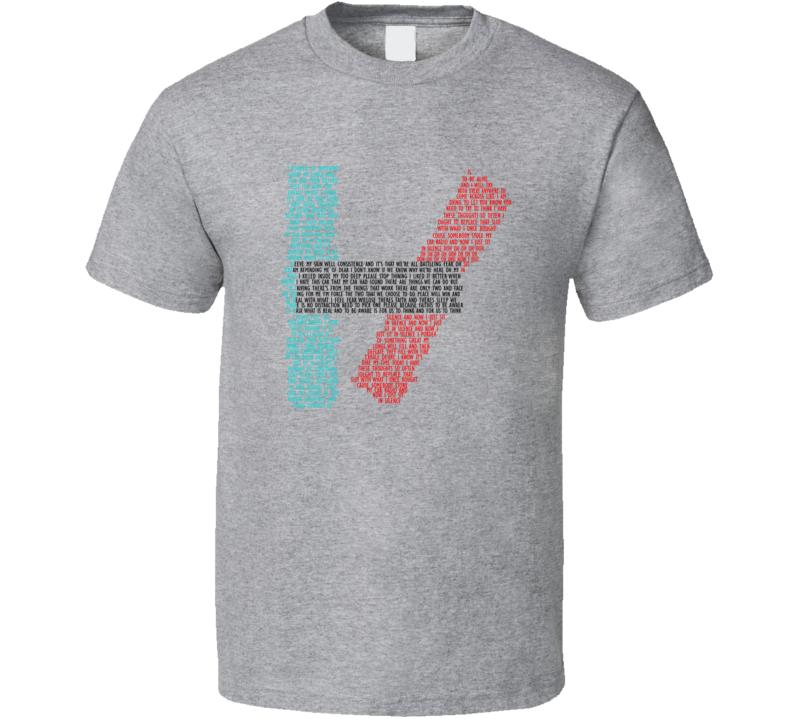 21 Lyric Quote [TW] T Shirt