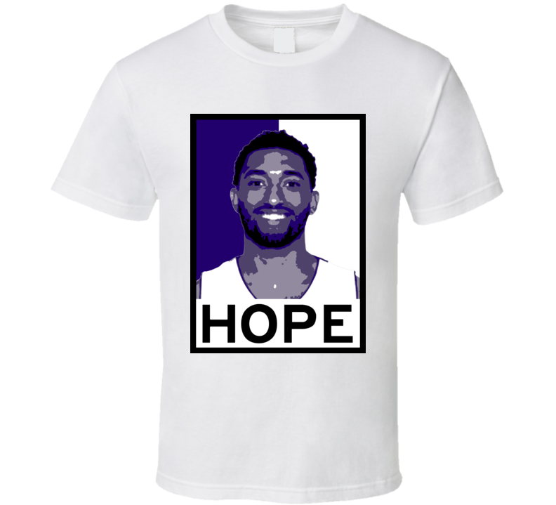 Darrun Hilliard Hope Poster Parody Detroit Basketball Draft 2015 Sports T Shirt