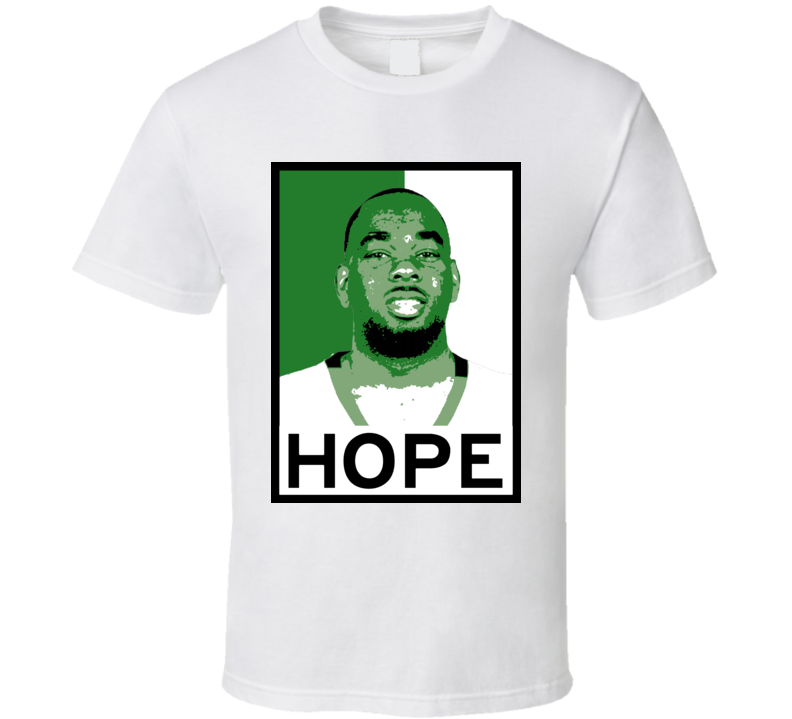 Marcus Thornton Hope Poster Parody Boston Basketball Draft 2015 Sports T Shirt