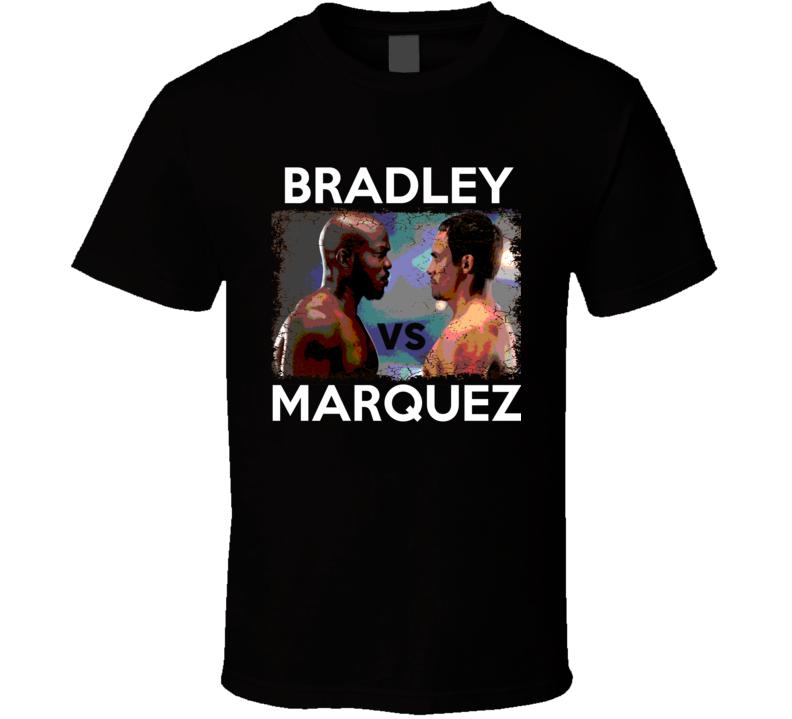 Timothy Bradley vs  Juan Manuel Marquez October 12 Wrestling T Shirt