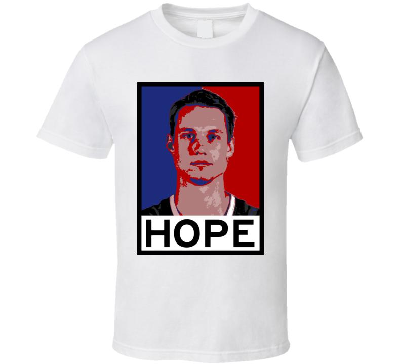 Marcus Eriksson Hope Poster Parody Atlanta Basketball Draft 2015 Sports T Shirt