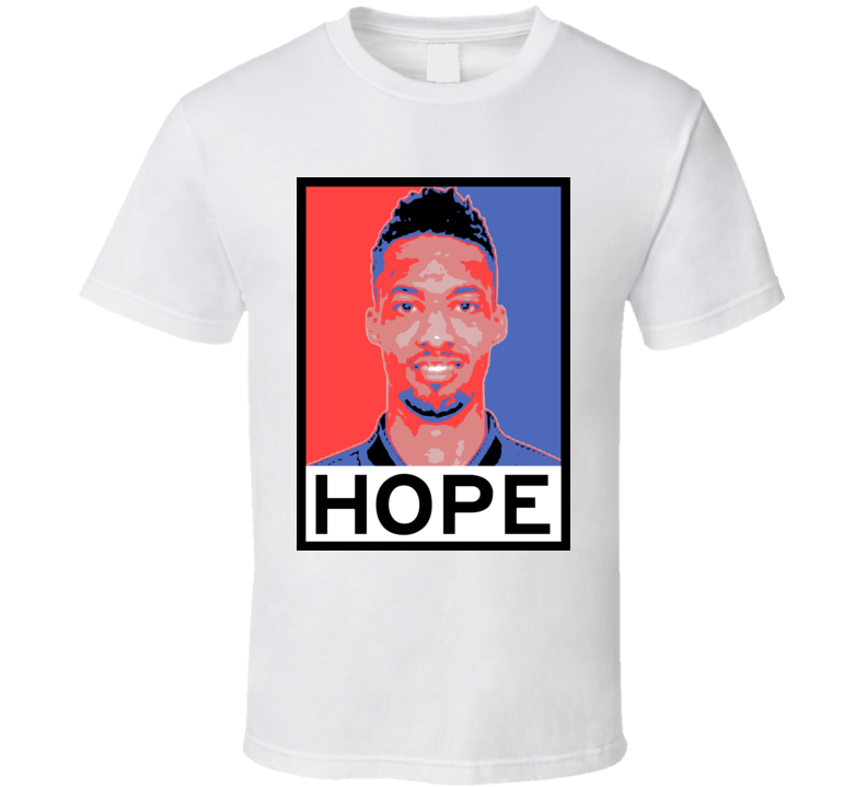 J. P. Tokoto Hope Poster Parody Philadelphia Basketball Draft 2015 Sports T Shirt