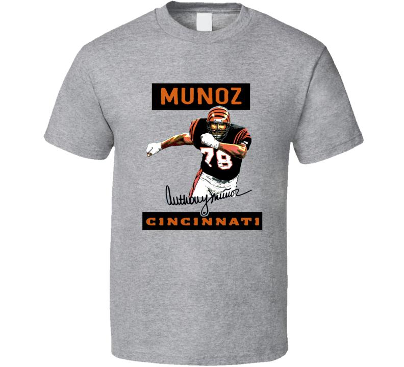 Anthony Munoz Cincinnati Football Sports T Shirt