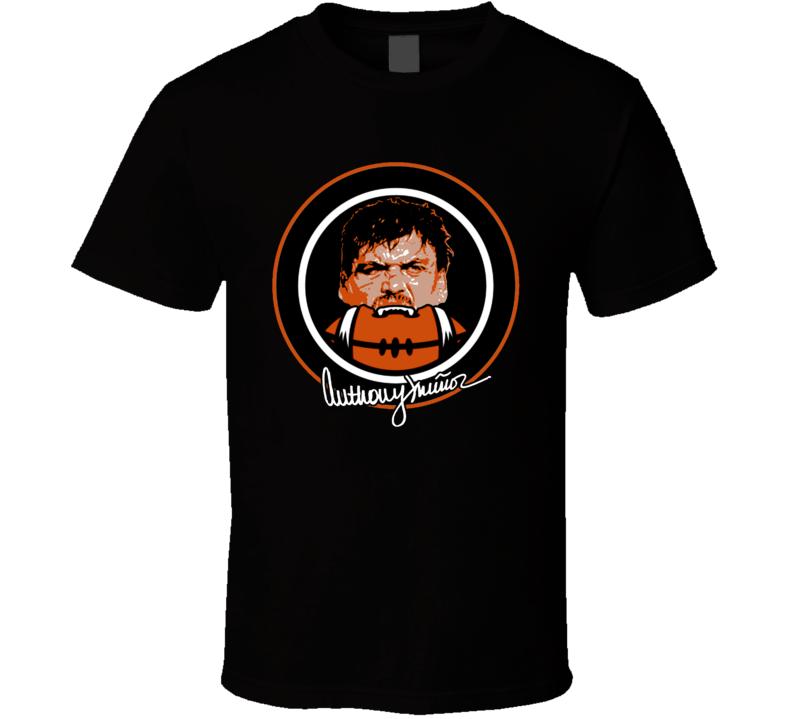 Anthony Munoz Football Logo Cincinnati Sports T Shirt