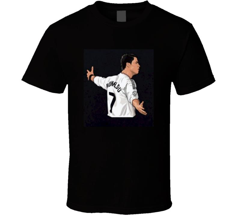 Real Madrid Cristiano Ronaldo T Shirt