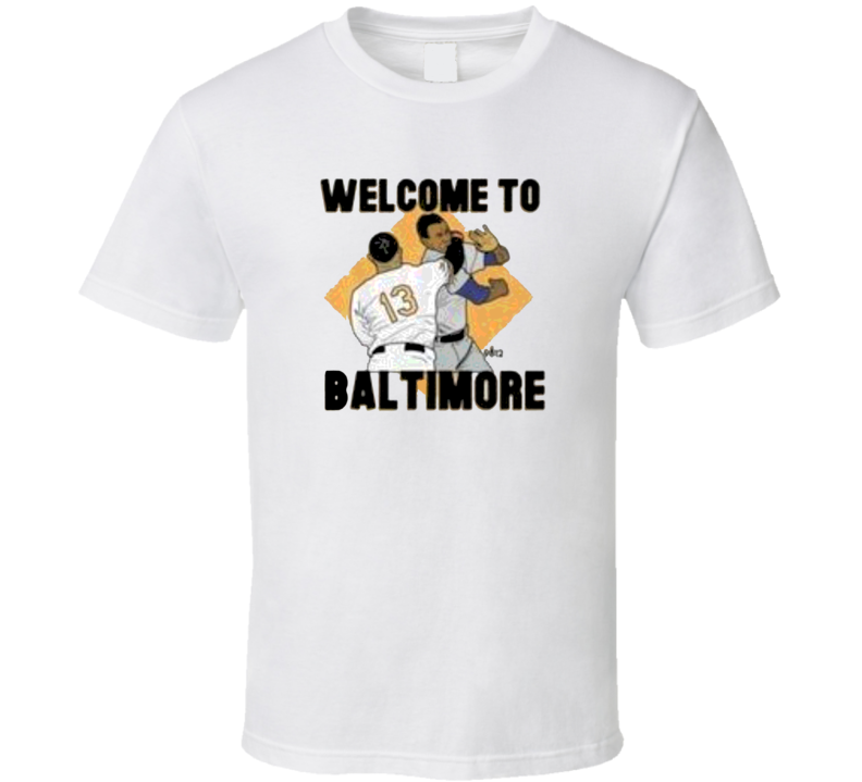 Manny Machados Welcome To Baltimore Popular T Shirt