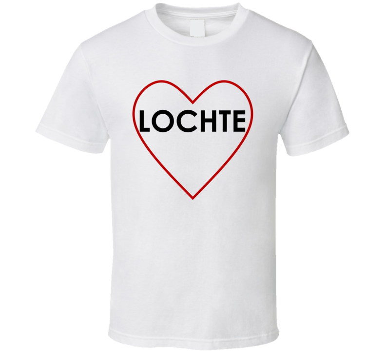 Heart Adorned  Ryan Lochte T Shirt