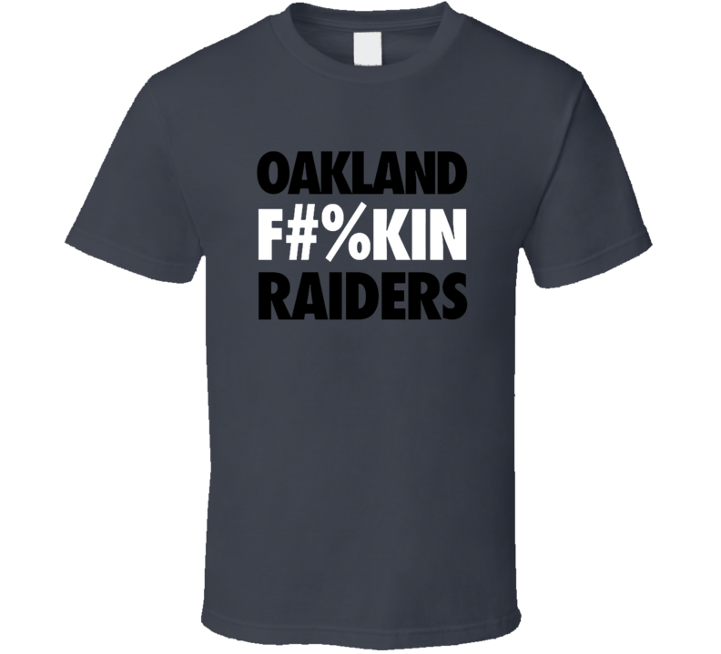 Oakland Raiders Football T Shirt