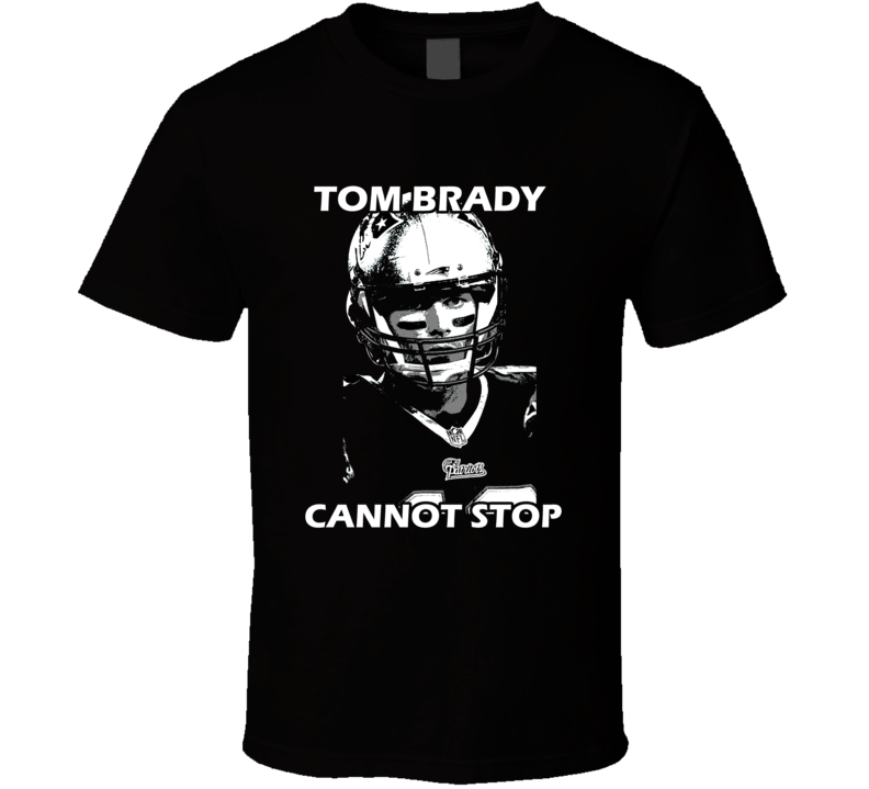 Brady Goat Cannot Stop Patriots Football T Shirt