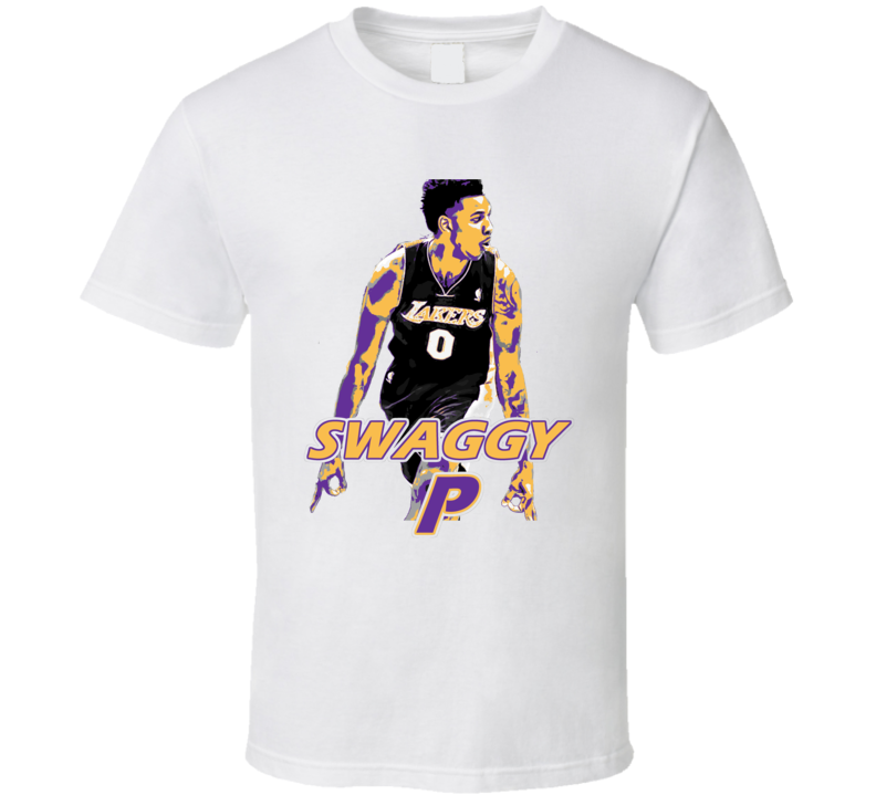 Swaggy P Lakers Basketball Fan T Shirt