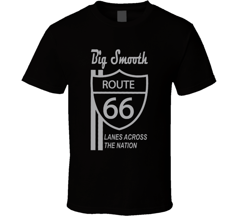 Big Smooth Route 66 Jackson Football T Shirt