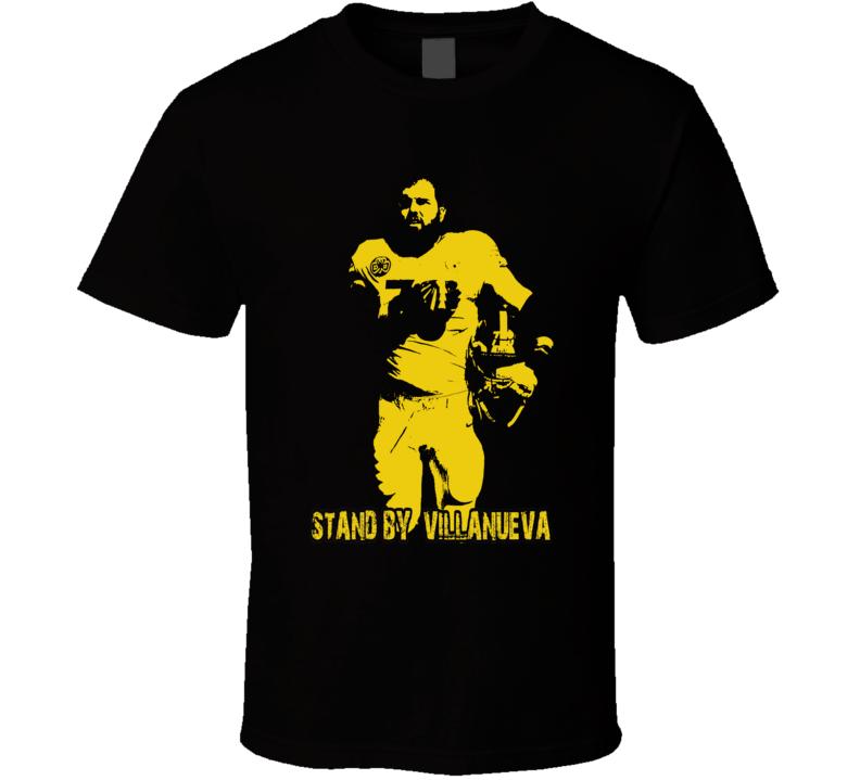 I Stand With Villanueva Respect Pittsburgh Football T Shirt