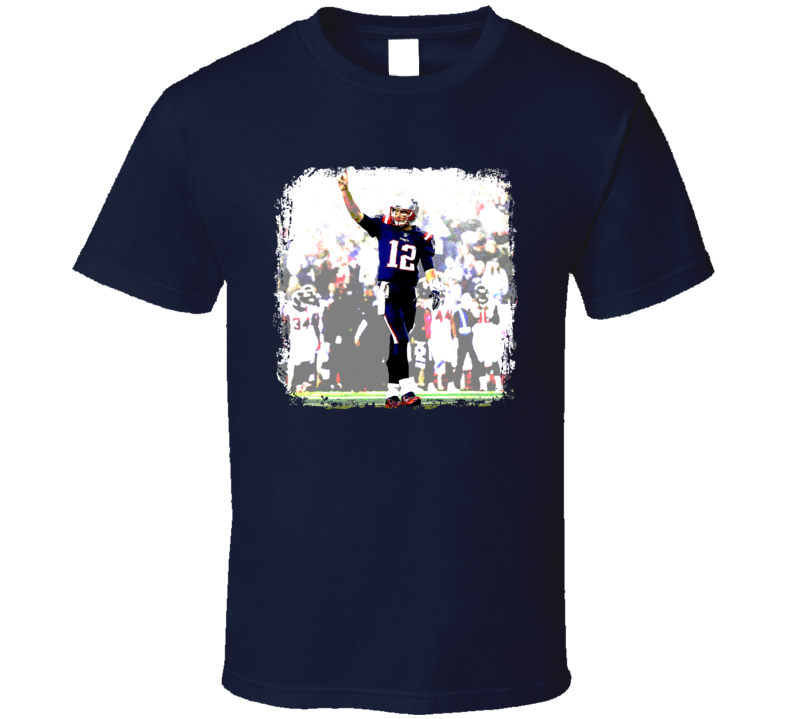 Brady Tb12 Photo Of The Night Football T Shirt