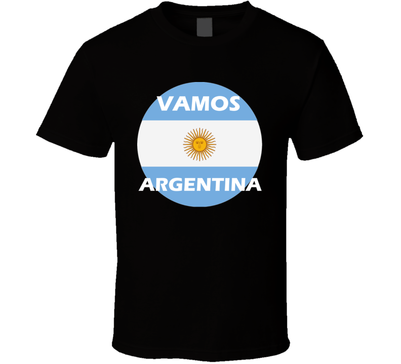 Argentina Soccer Team World Cup Russia 2018 T Shirt