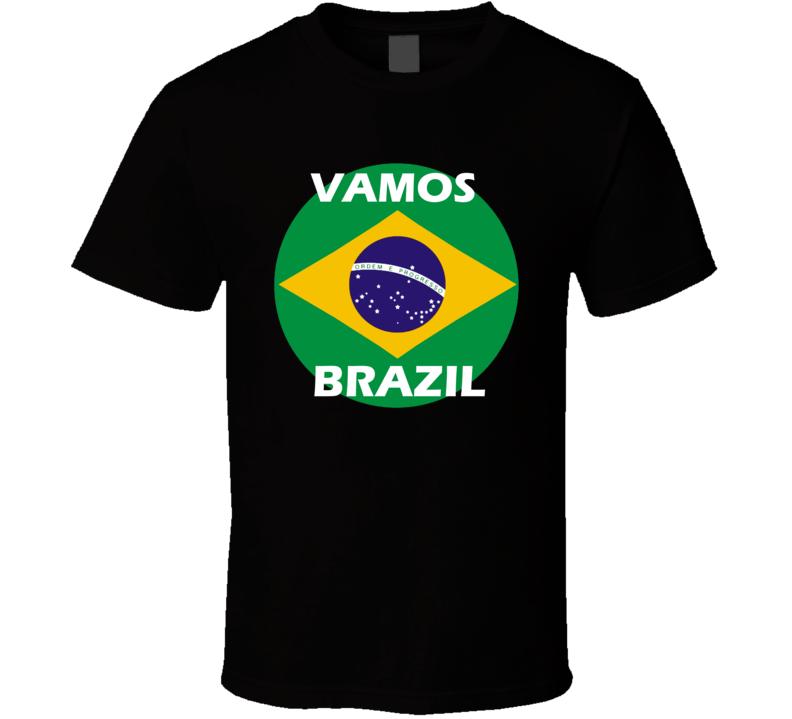 Brazil Soccer Team World Cup Russia 2018 T Shirt
