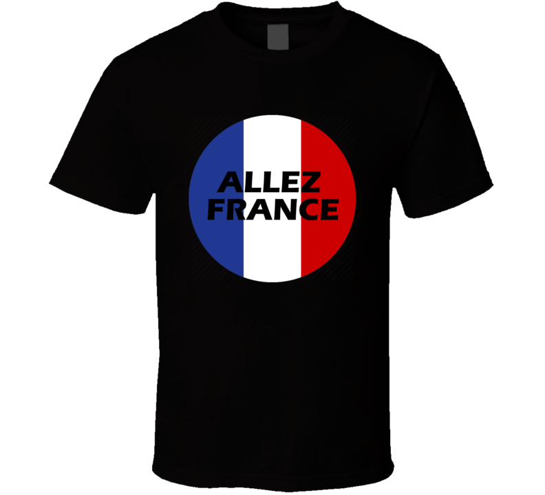 France Soccer Team World Cup Russia 2018 T Shirt