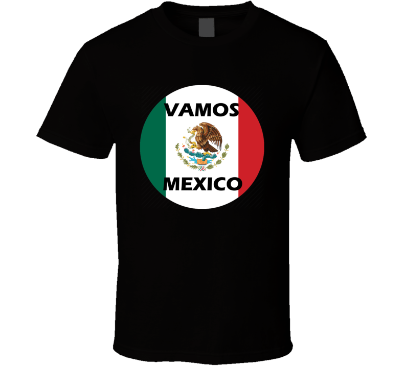 Mexico Soccer Team World Cup Russia 2018 T Shirt