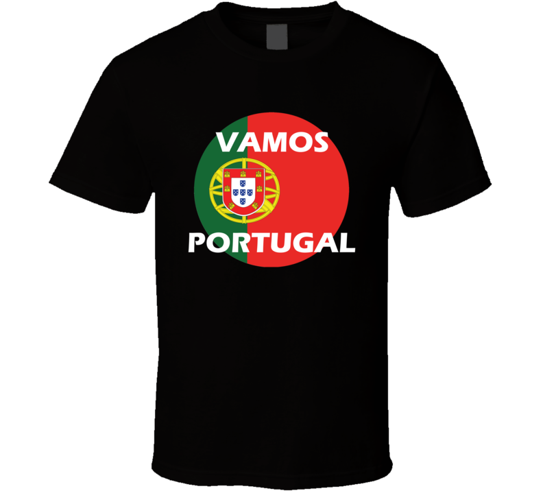 Portugal Soccer Team World Cup Russia 2018 T Shirt