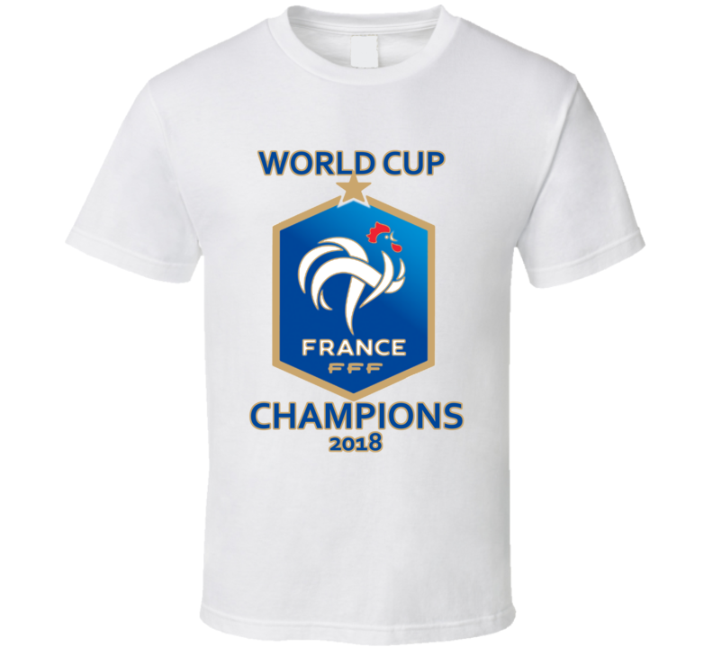 France World Cup Champions 2018 T Shirt