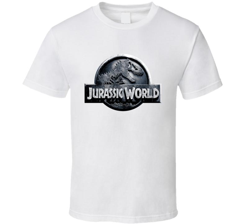 Jurassic World Dinosaur Movie Indominus Rex 3D Logo Cool T Shirt
