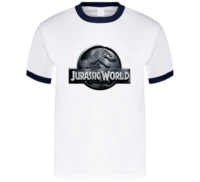 Jurassic World Indominus Rex Dinosaur Cool 2015 Movie Logo T Shirt