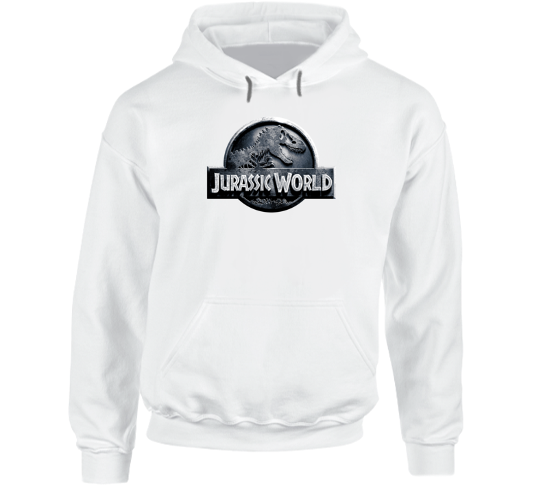 Jurassic World Indominus Rex Dinosaur Cool 2015 Movie Logo Hoodie