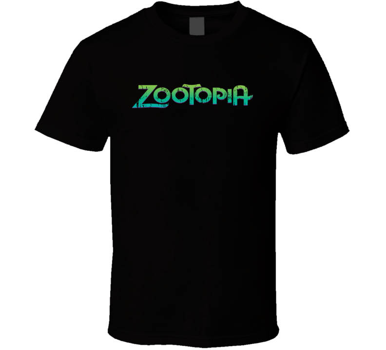 Zootopia Best Cartoon Movie of 2016 Worn Look T Shirt