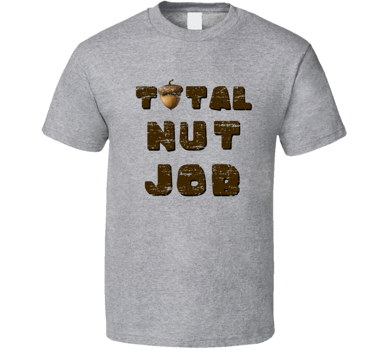 Total Nut Job Ice Age 5 Scrat Party Animal Worn Look Funny T Shirt