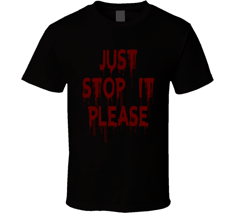 Just Stop It Black Lives Bleeding Dalls Shooting Faded Look T Shirt