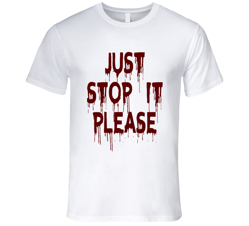 Black Lives Matter Don't Shoot Just Stop Please Faded Look Mens Fitted T Shirt