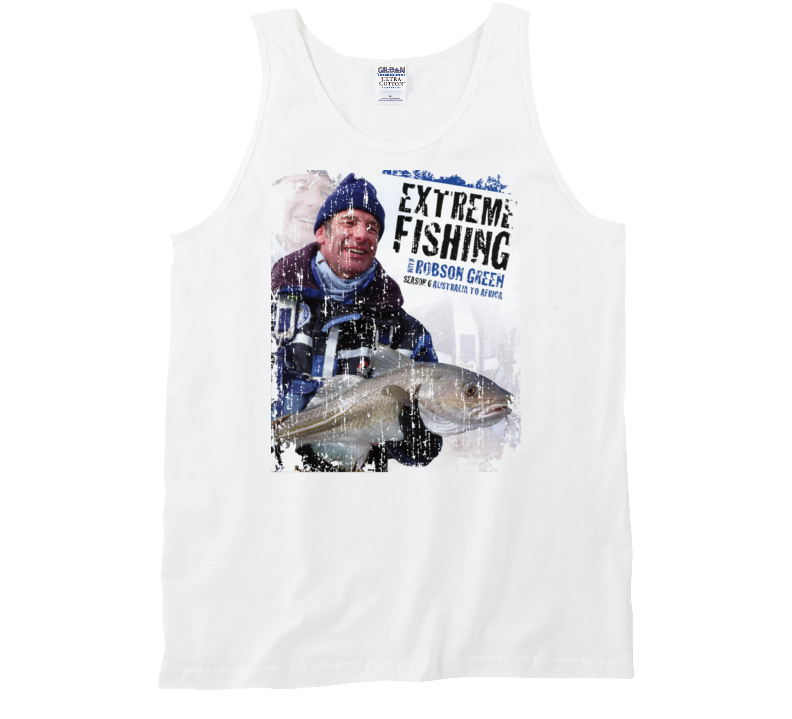 Extreme Fishing with Robson Green and Cod Season 6 Poster TV Tanktop Tanktop