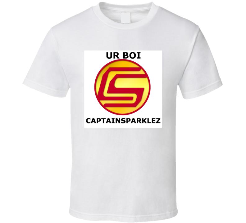 Captain Sparklez T shirt