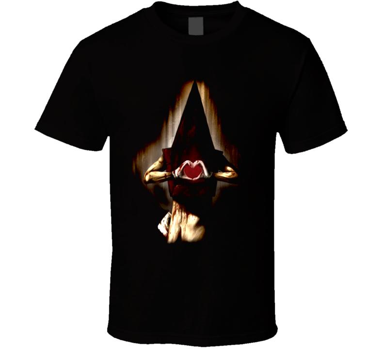 Silent Hill Pyramid Head Video Game T Shirt
