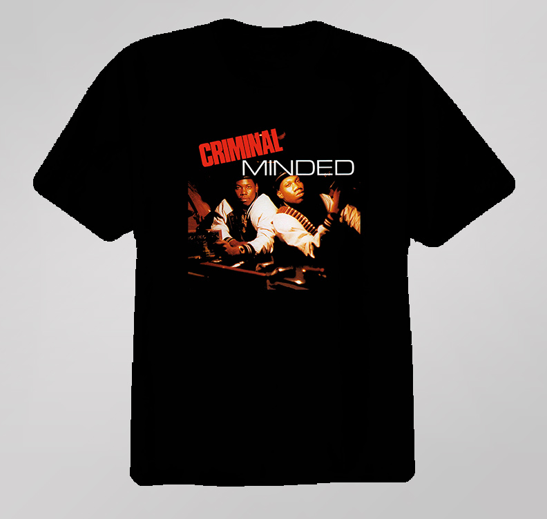 Boogie Down Production Criminal Minded T Shirt