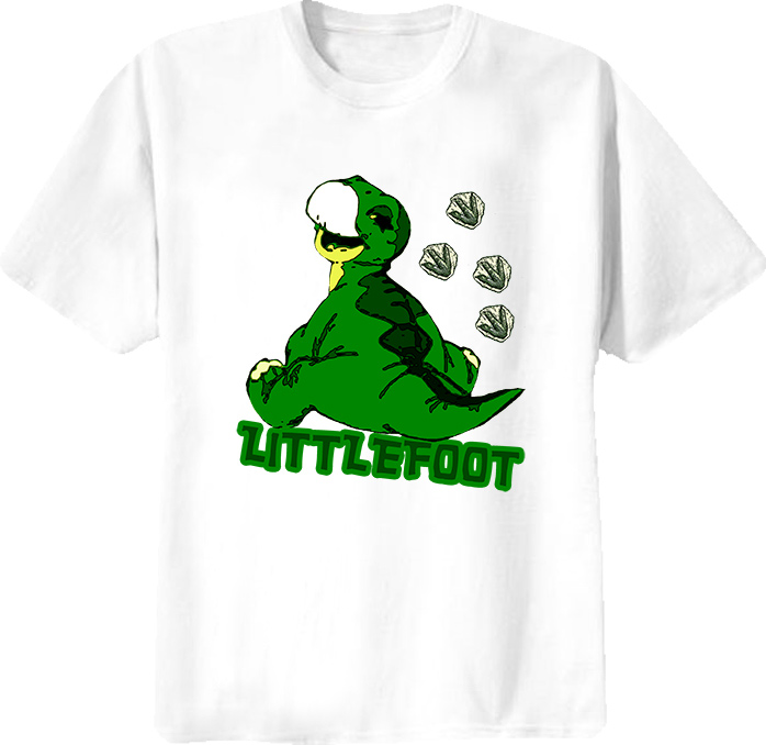 Littlefoot The Land Before Time Children's Movie T Shirt