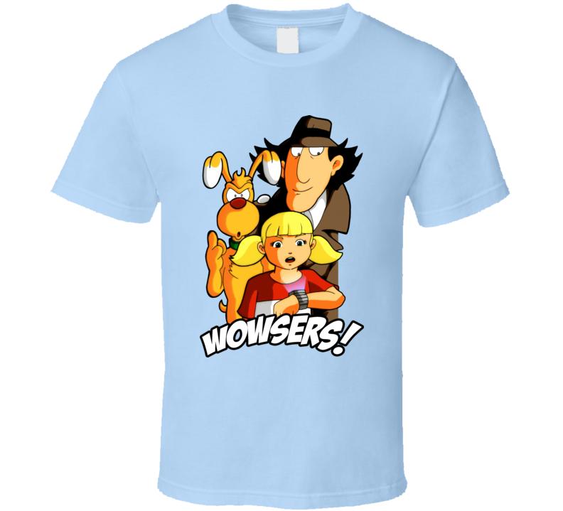 f51458a46c4 Inspector Gadget Penny Brain T Shirt