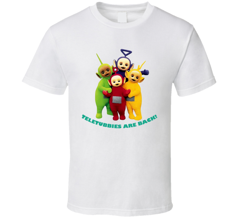 Teletubbies Are Back Pbs Kids T Shirt