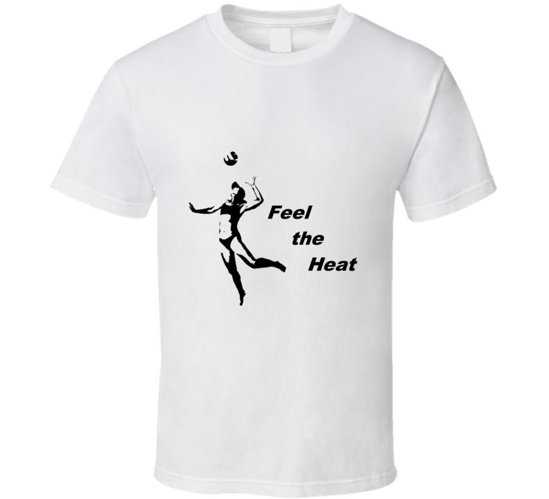 Volleyball Heat Serve T Shirt