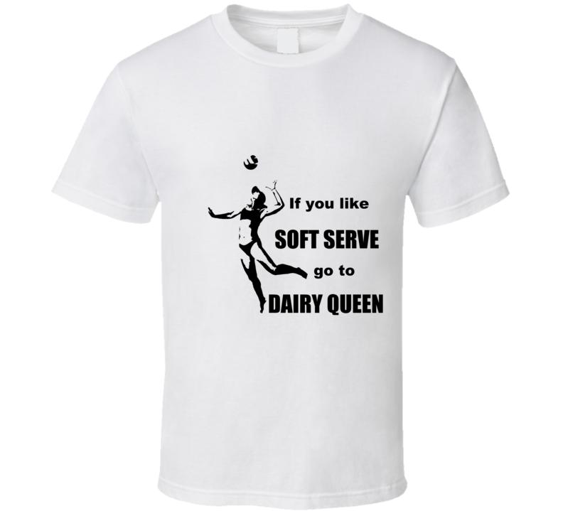 Volleyball Soft Serve T Shirt