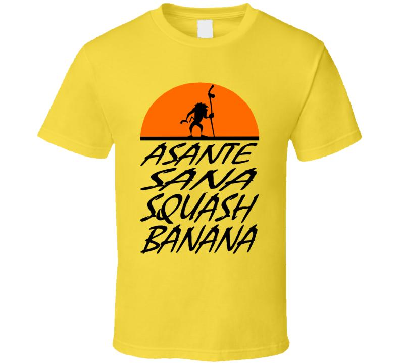 Rafiki Squash Banana T Shirt