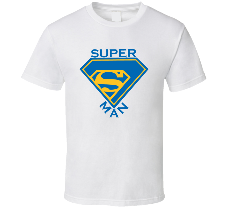 Superman Golden State Warriors Steph Curry Basketball T Shirt