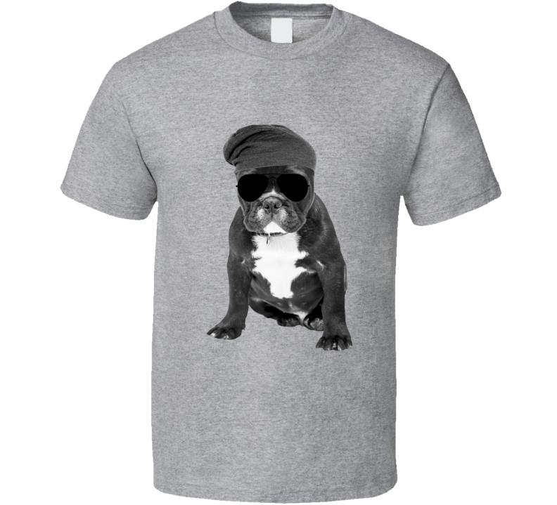 French Bulldog Frenchie Gangster Tough Thug T Shirt