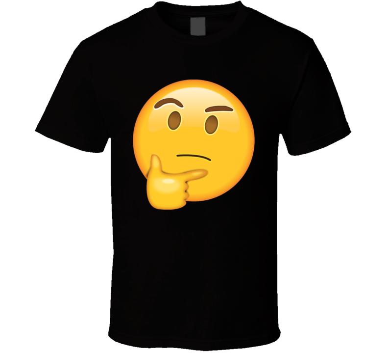 Thinking face Emoji t shirt