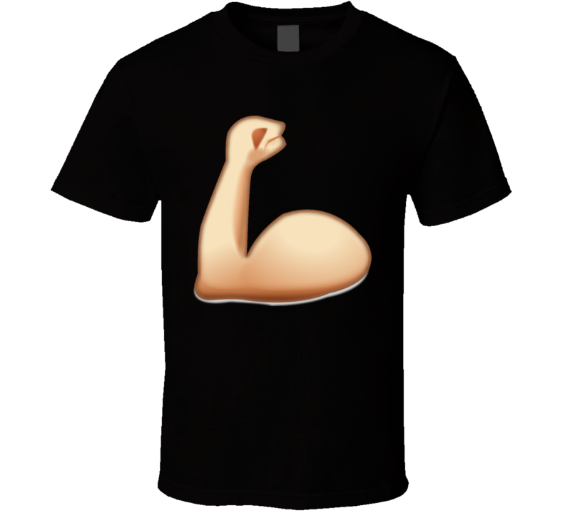 Strong arm Emoji t shirt